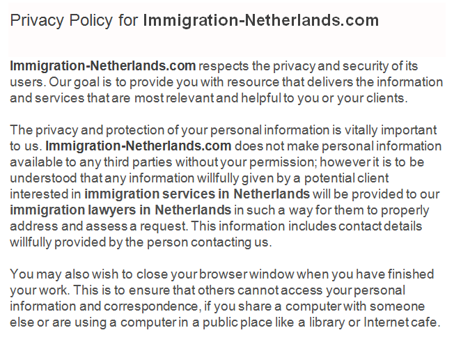 Privacy-policy-for-immigration-netherlands