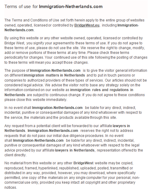 Terms-of-use-for-immigration-netherlands